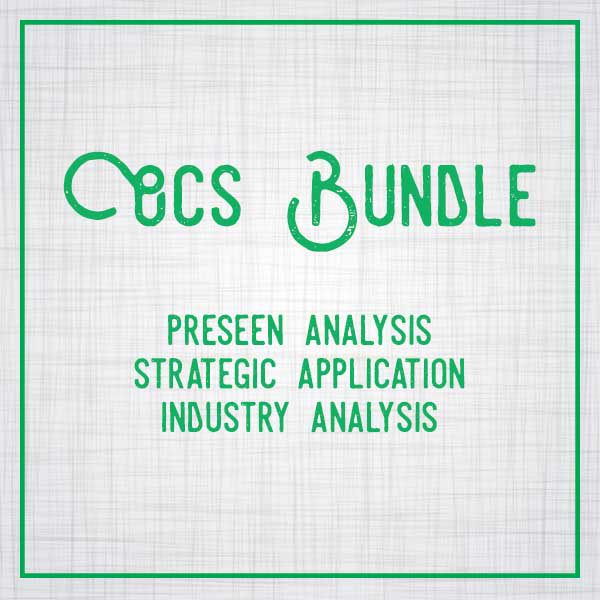 OCS Analysis Bundle